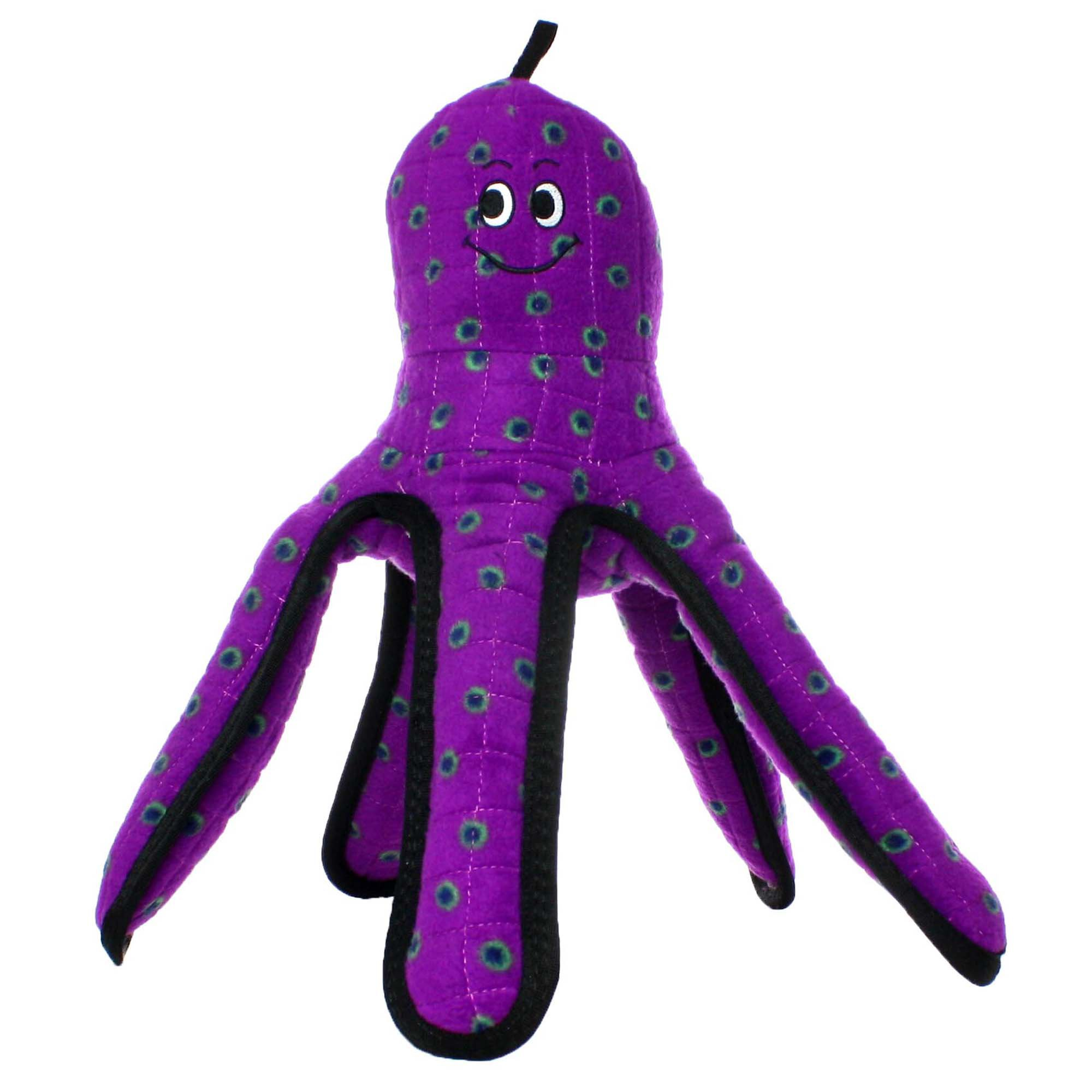 VIP Products Tuffy's Purple Octopus Dog Toy