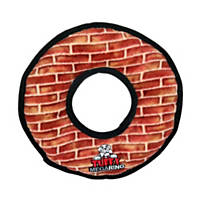 VIP Products Tuffy's Mega Ring Red Brick Dog Toy