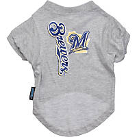 Milwaukee Brewers MLB Pet T-Shirt