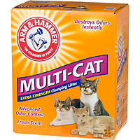 Arm & Hammer Multi-Cat Extra Strength Scented Clumping Cat Litter