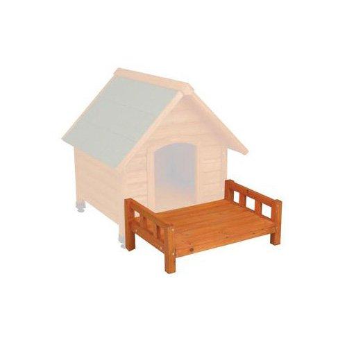 WARE Premium Plus A-Frame Dog House Patio, Large