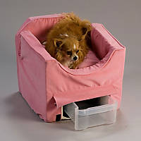 Snoozer Pink Luxury Lookout II Dog Car Seat