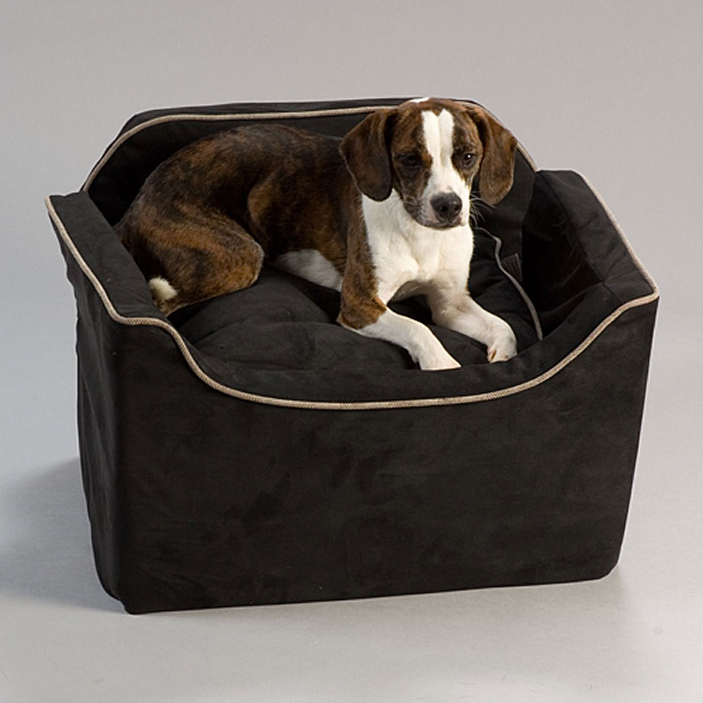 Snoozer Medium Black Luxury Lookout I Dog Car Seat | Petco ...