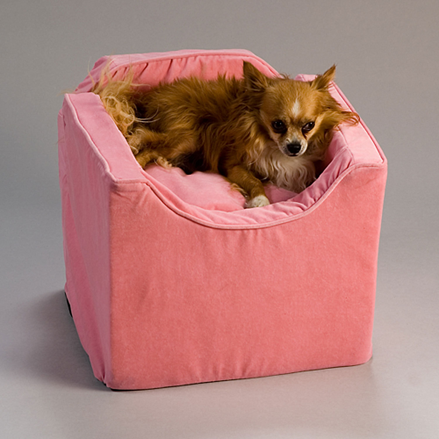 Snoozer Small Pink Luxury Lookout I Dog Car Seat