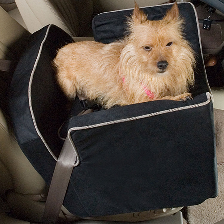 Snoozer Black Luxury Lookout I Dog Car Seat