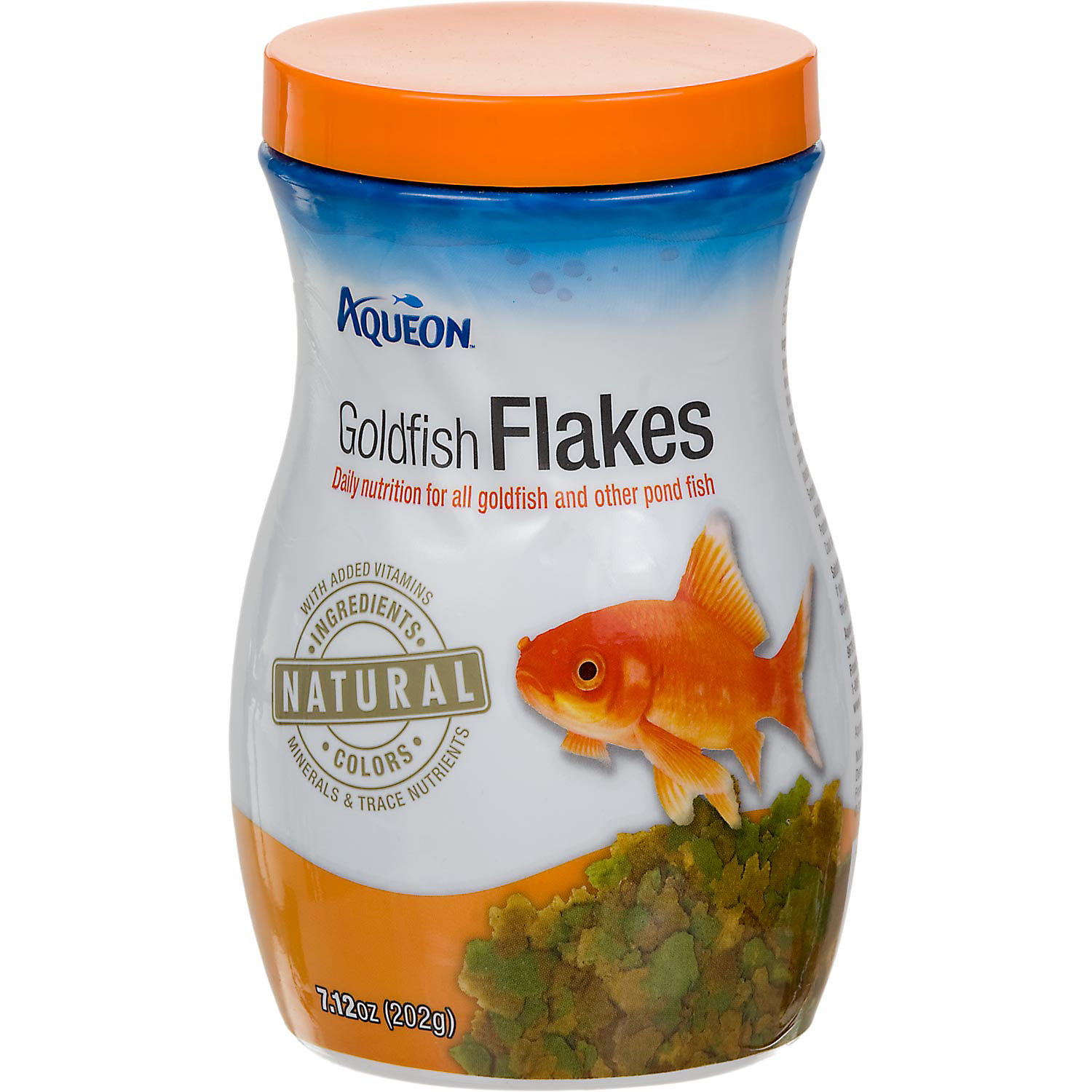 Aqueon Goldfish Flakes 7.12 Oz.