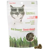 Pet Greens Savory Salmon Semi-Moist Cat Treats