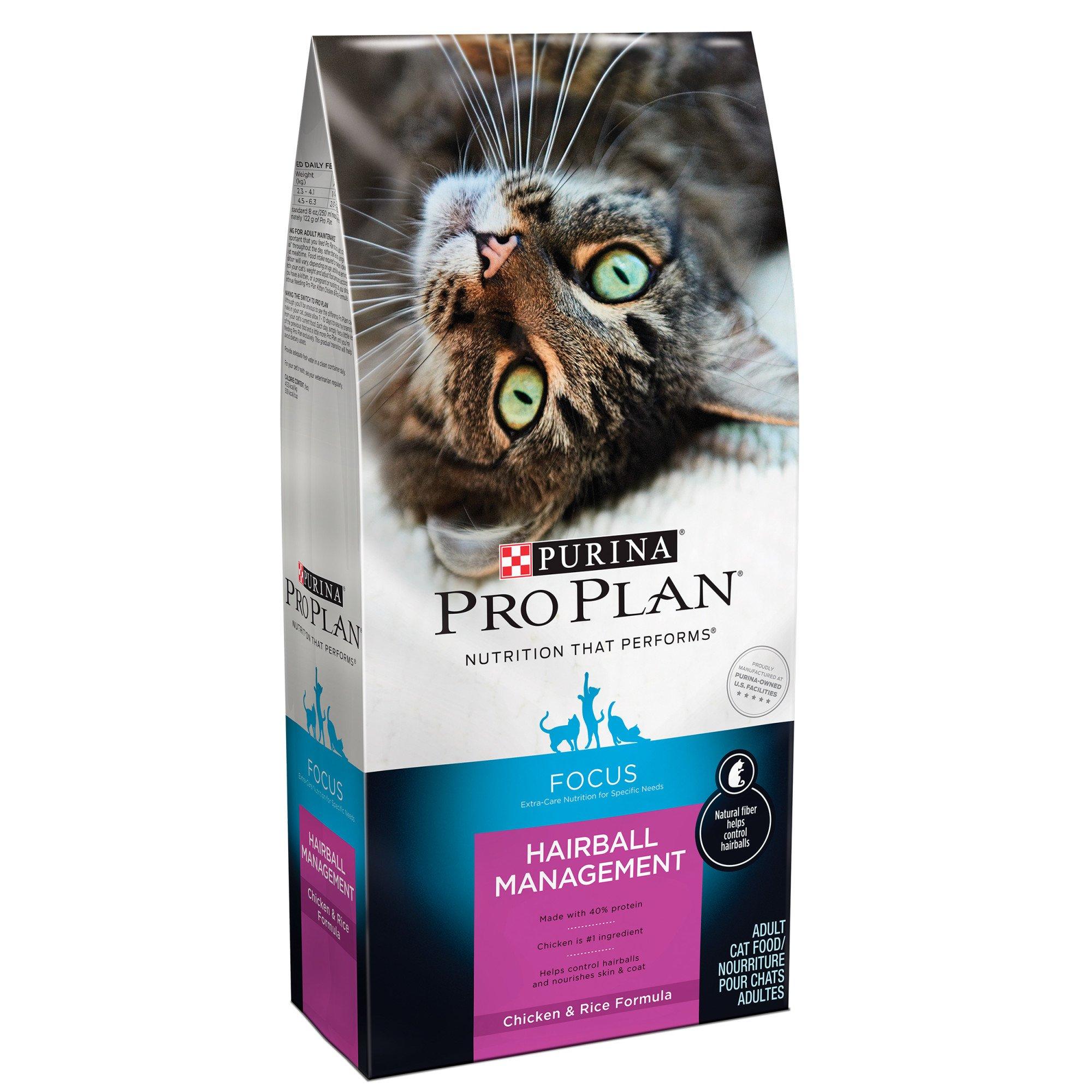 Pro Plan Focus Hairball Management Cat Food