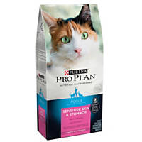 Pro Plan Focus Sensitive Skin & Stomach Lamb & Rice Adult Cat Food