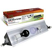 Zilla Incandescent 20' Dual Bulb Reptile Fixture