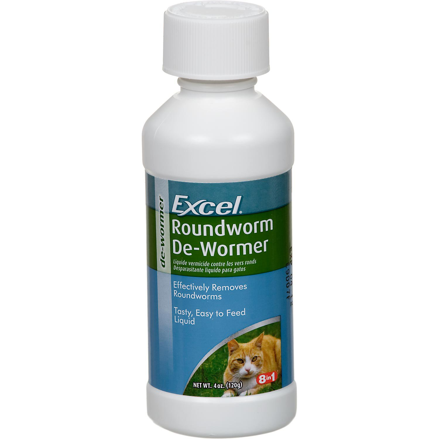 Excel Roundworm Cat De-Wormer