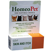 HomeoPet Feline Skin & Itch Natual Cat Coat Enhancer