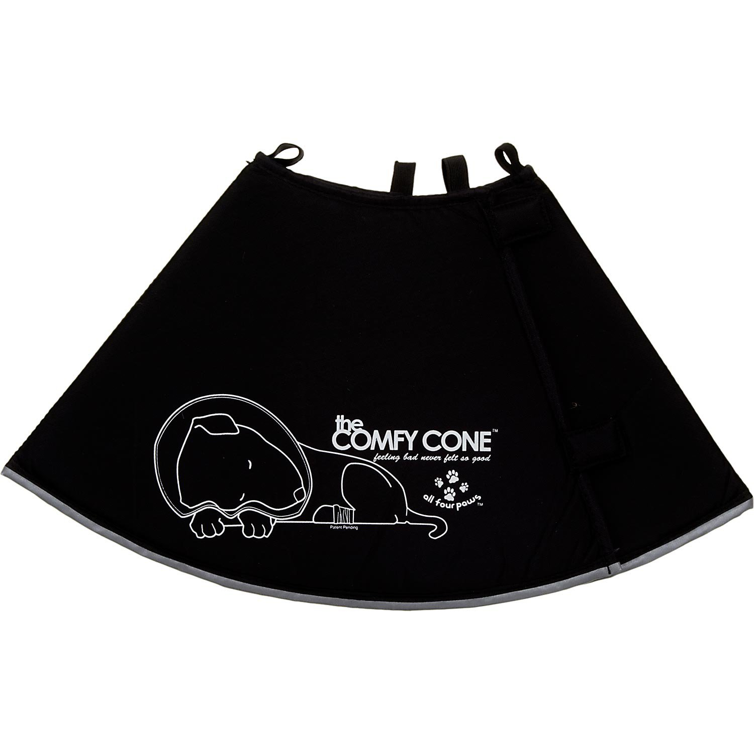 All Four Paws Black Comfy Cone | Petco
