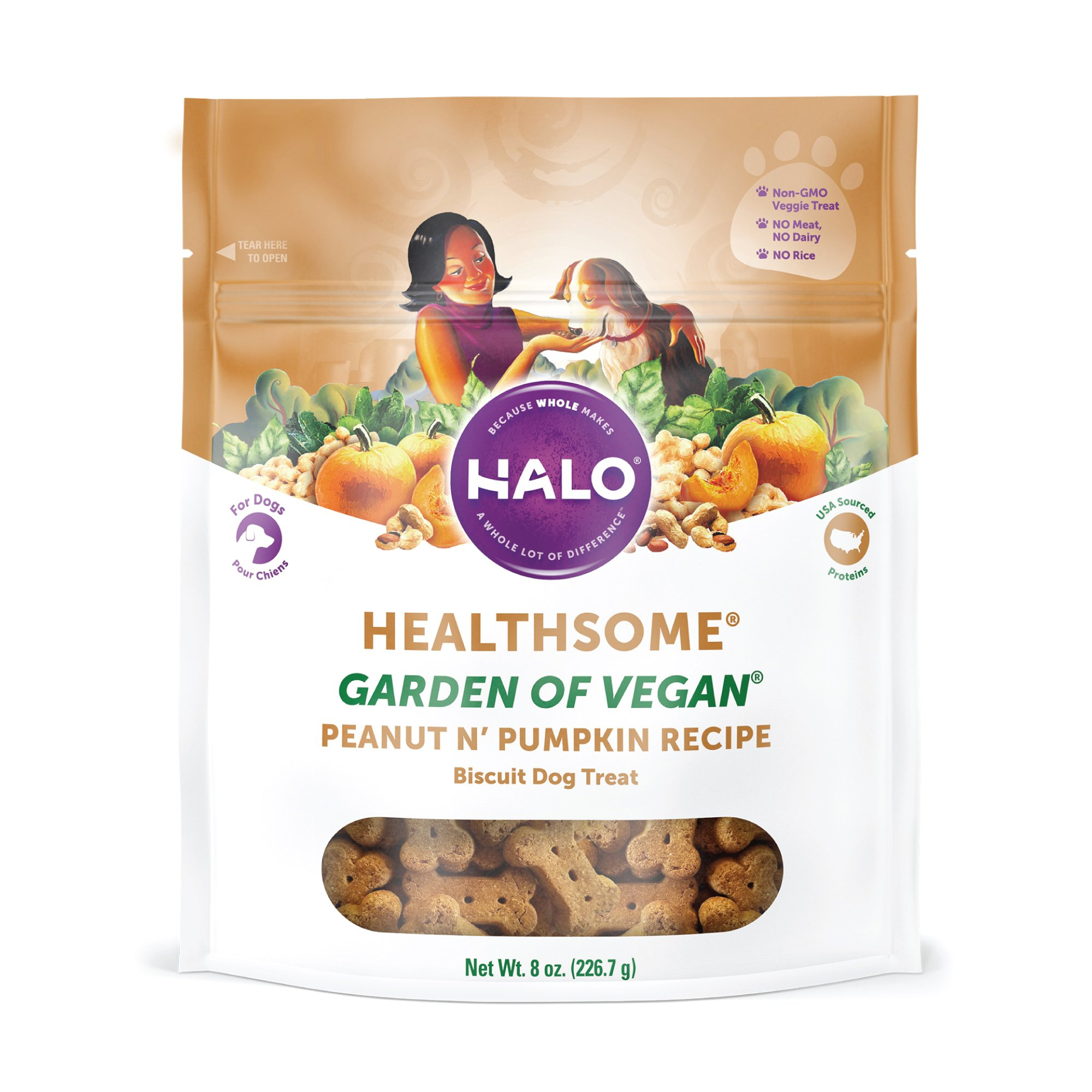 Halo Liv-a-Littles Healthsome Dog Biscuits