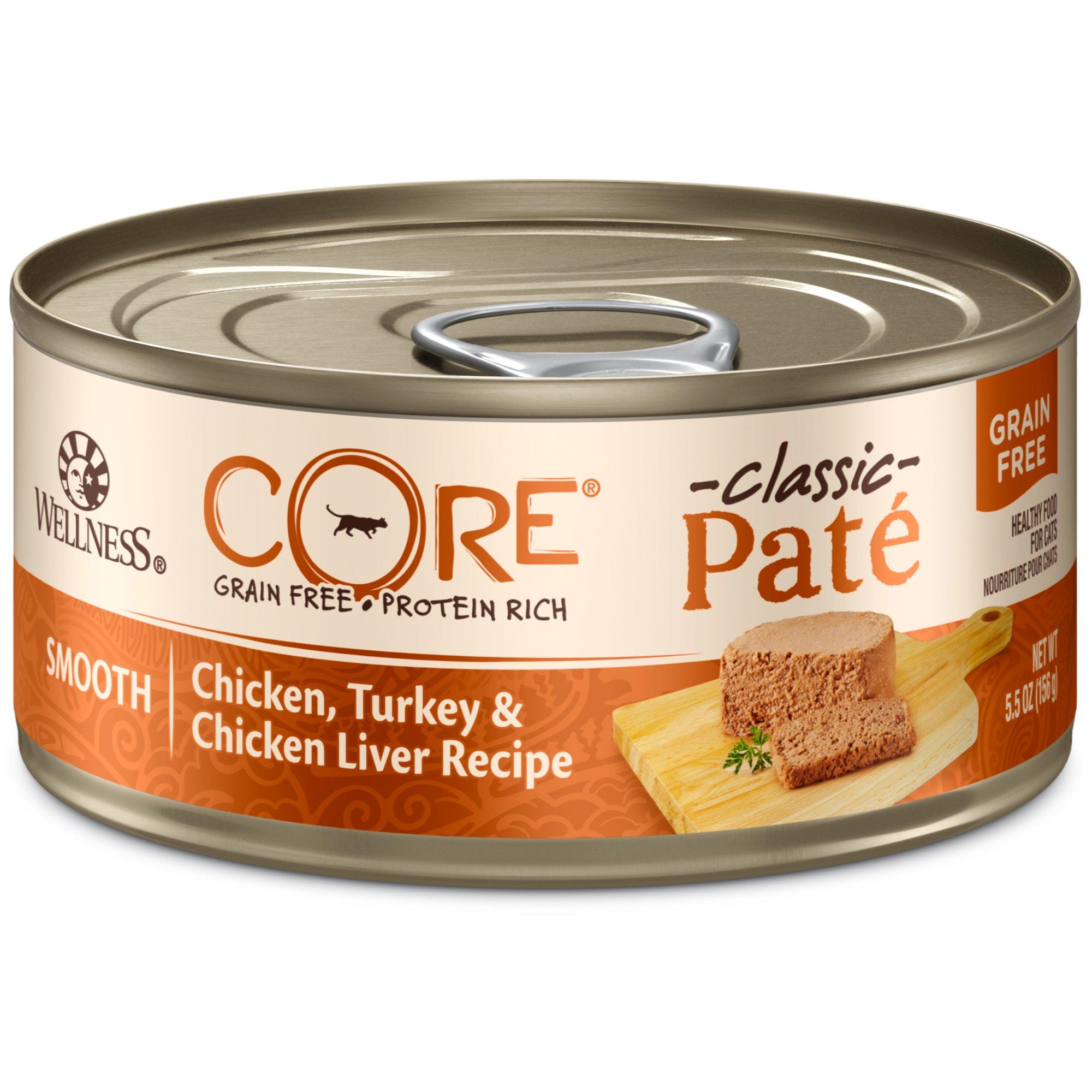 Wellness CORE Chicken, Turkey & Chicken Liver Canned Cat Food