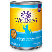 Wellness Adult Chicken & Herring Canned Cat Food