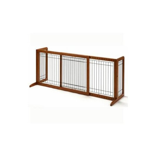 Richell Freestanding Step-Over Pet Gate