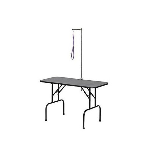 """Midwest 48"""" Plywood Grooming Table with Arm"""