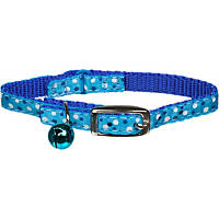 Coastal Pet Li'l Pals Blue Dots Kitten Collar with Bell