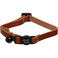 Petco Cat Breakaway Collar in Brown Leather