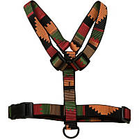 Bison Pet Rasta Adjustable Nylon Dog Harness