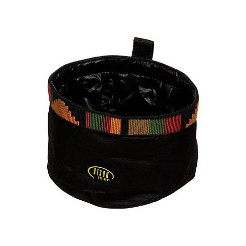 Bison Pet Rasta Travel Bowl