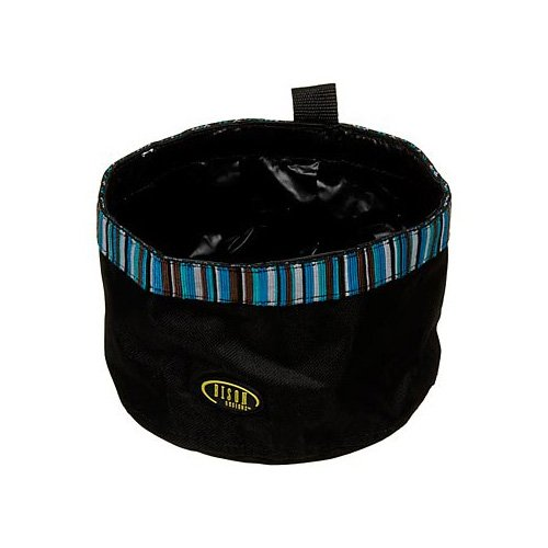 Bison Pet Turquoise Travel Bowl