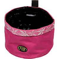 Bison Pet Pink Maui Travel Bowl