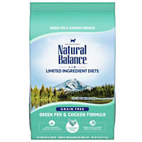 Natural Balance Limited Ingredient Diets Green Pea & Chicken Formula Dry Cat Food