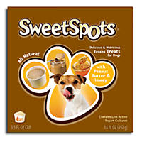 Nature's Variety Peanut Butter & Honey SweetSpots Frozen Treats for Dogs