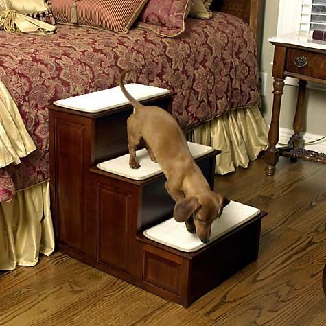 Solvit 3 Step Decorative Pet Steps Petco