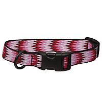 Bison Pet Eco Pinkie Zig Zag Dog Collar