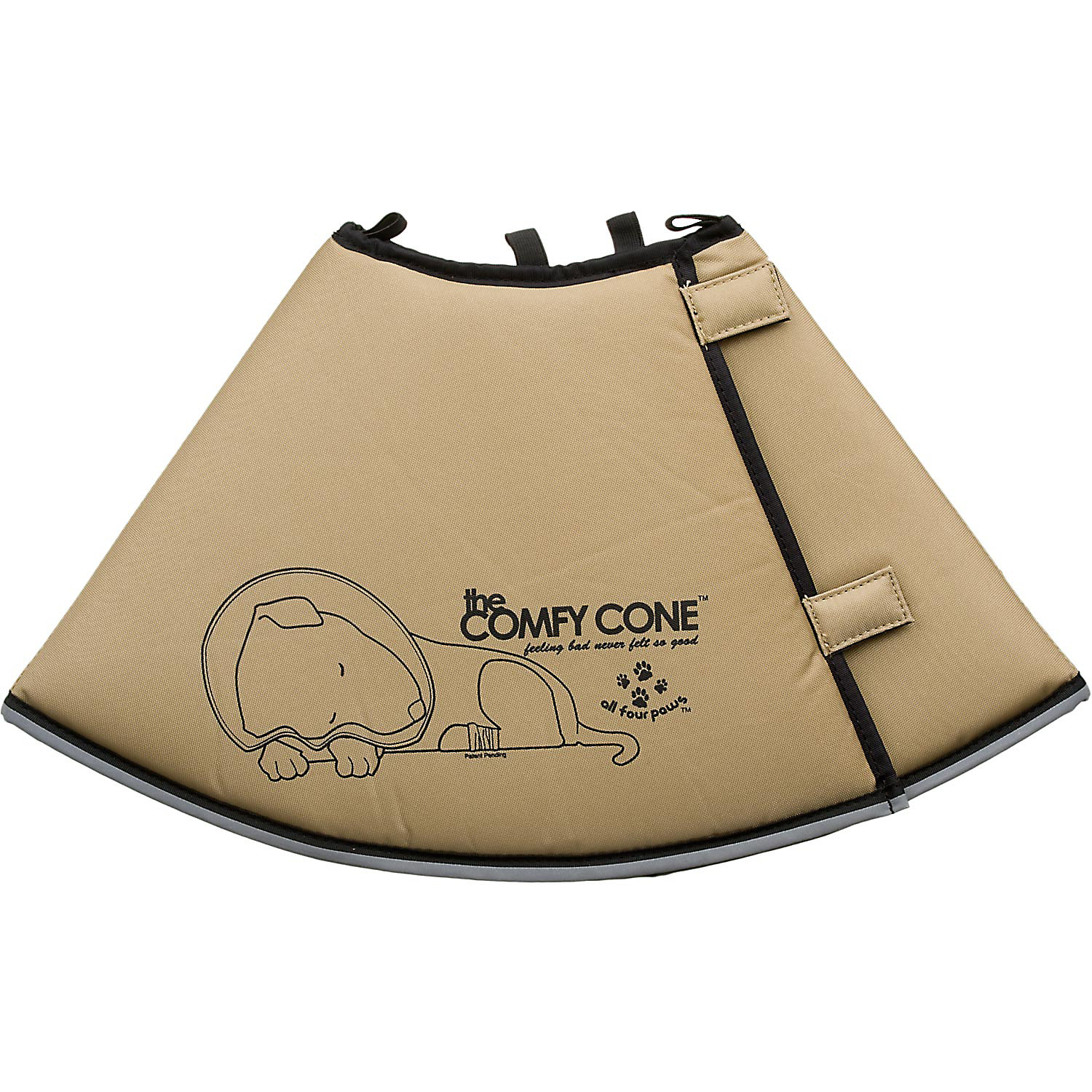 All Four Paws Tan Comfy Cone Large Large 25 Cm