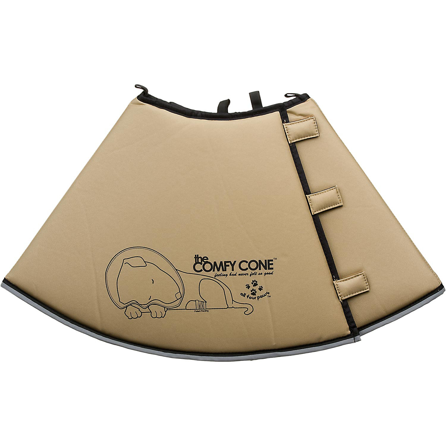 All Four Paws Tan Comfy Cone X Large Xlarge 30 Cm
