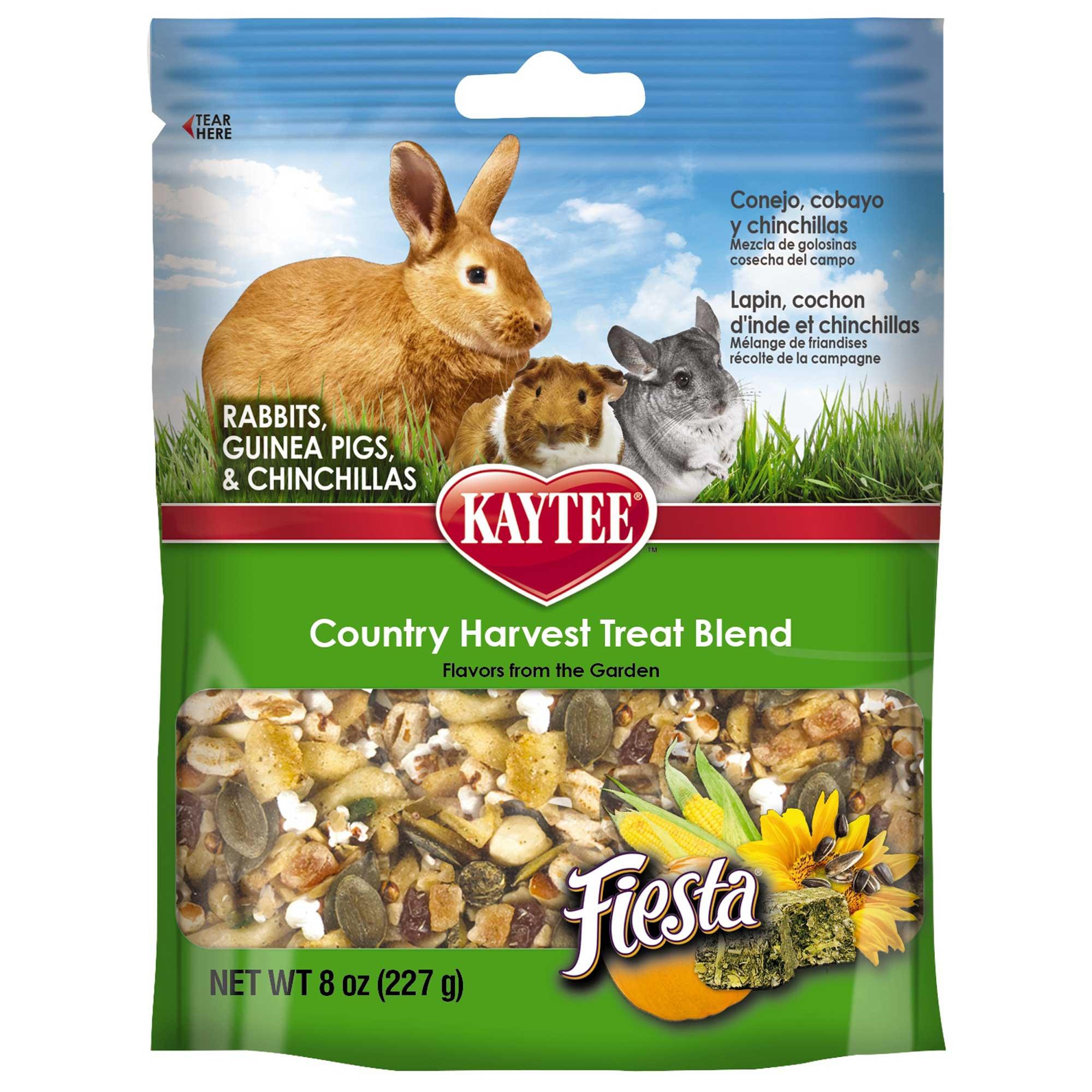 Kaytee Fiesta Country Harvest Blend Rabbit, Guinea Pig and Chinchilla Treat