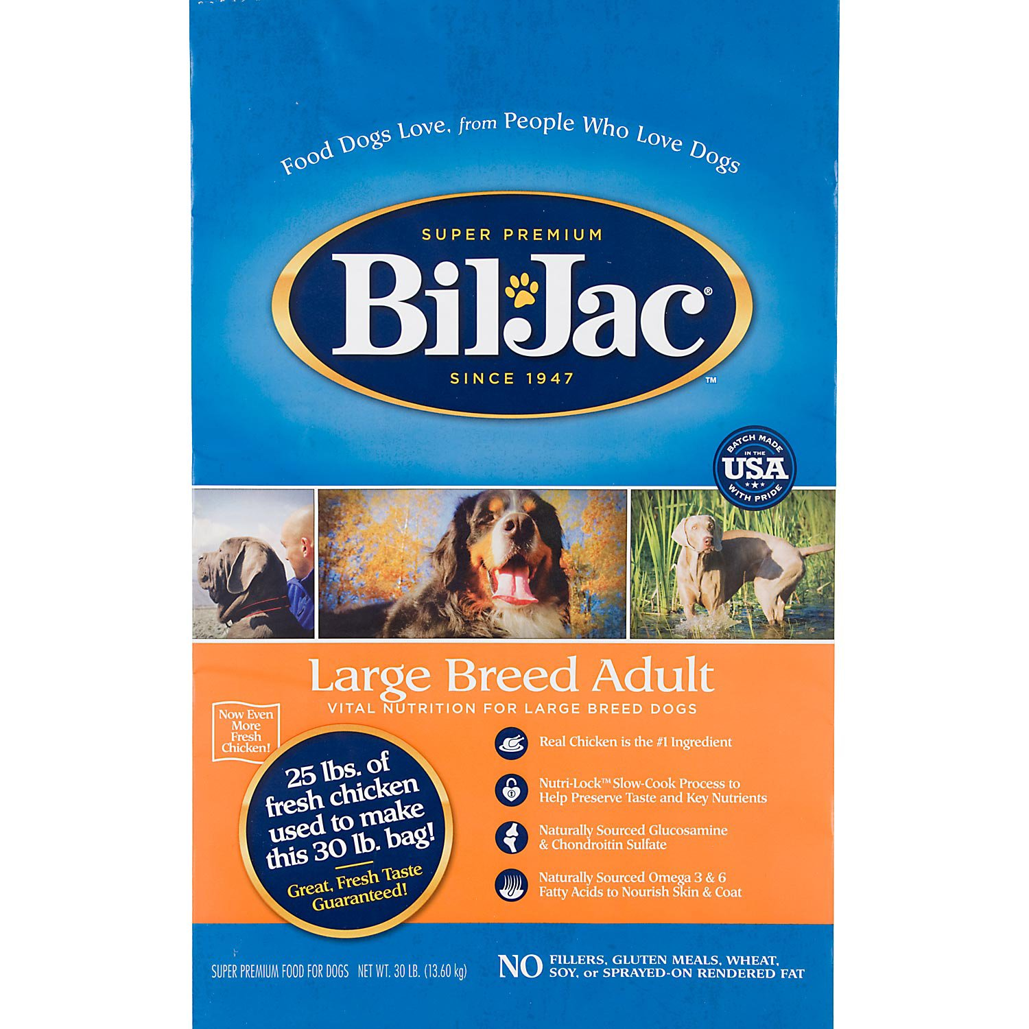 Bil-Jac Large Breed Adult Select Dry Dog Food