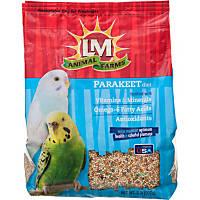 LM Animal Farms Parakeet Diet Bird Food