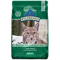 Blue Buffalo Wilderness Duck Recipe Adult Cat Food