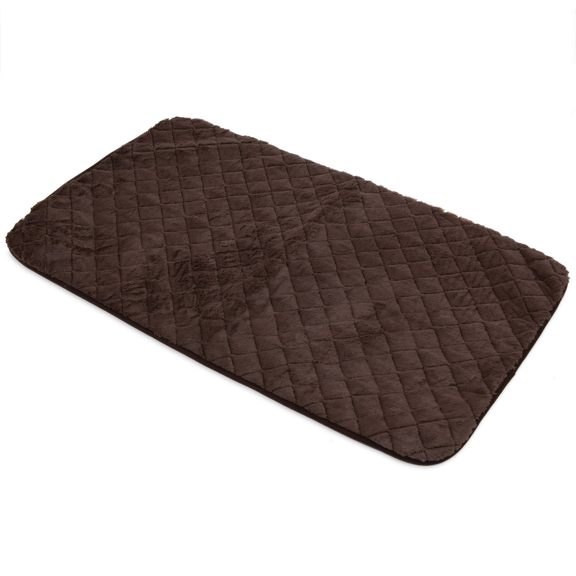 Precision Pet SnooZZy Sleeper Chocolate Brown Crate Mat