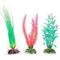 Petco Glo Lite Variety Pack Plastic Aquarium Plants