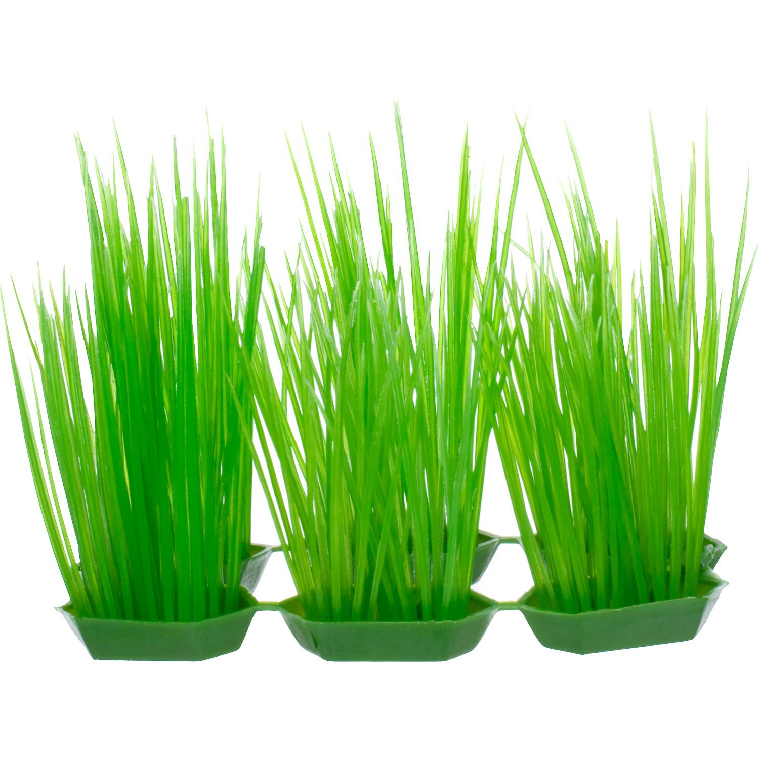 Petco Green Foreground Plastic Aquarium Plants | Petco Store
