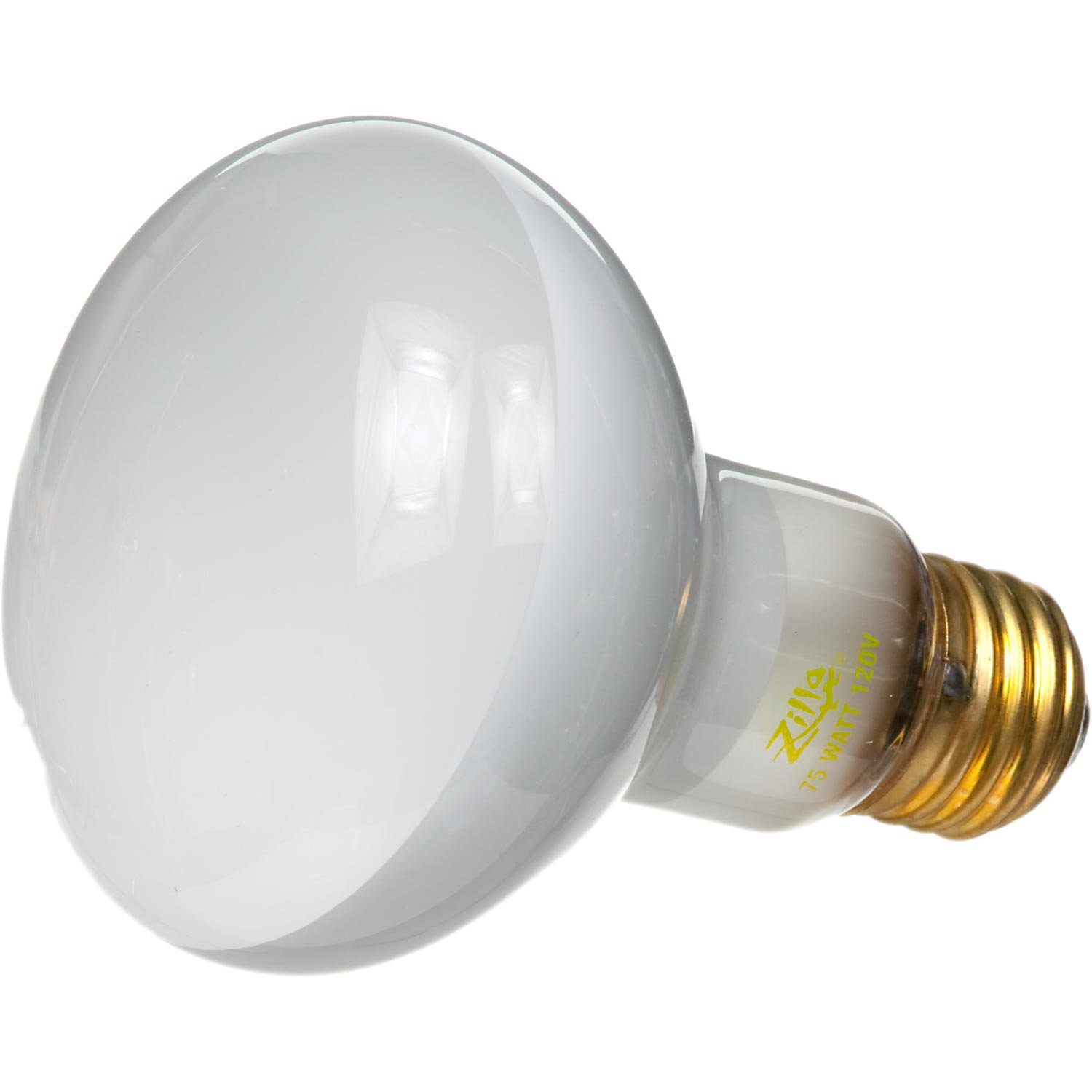 Zilla Day White Light Incandescent Spot Bulbs, 75 Watts