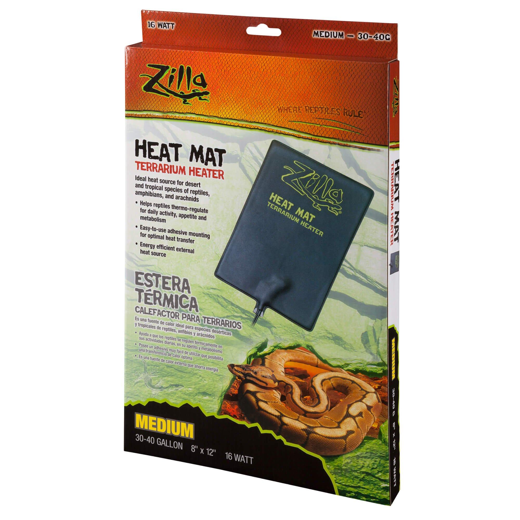 Zilla Under Tank Reptile Heaters, Medium