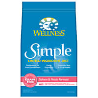 Wellness Simple Limited Ingredient Diet Salmon & Potato Grain Free Dry Dog Food