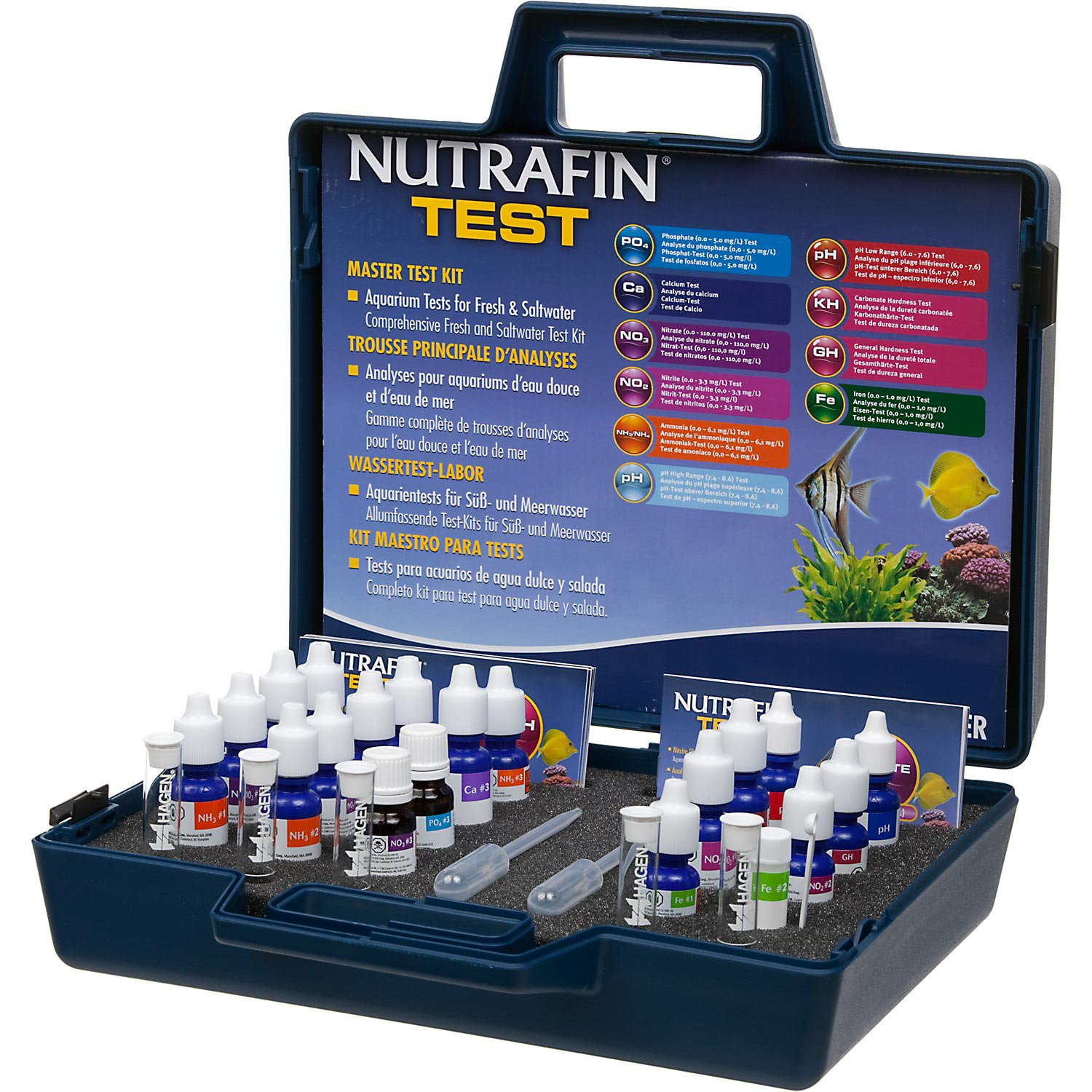 NutraFin Master Aquarium Test Kit