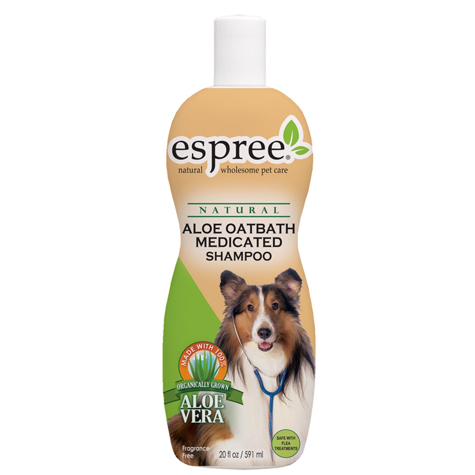 Espree Natural Aloe Oatbath Dog & Cat Shampoo