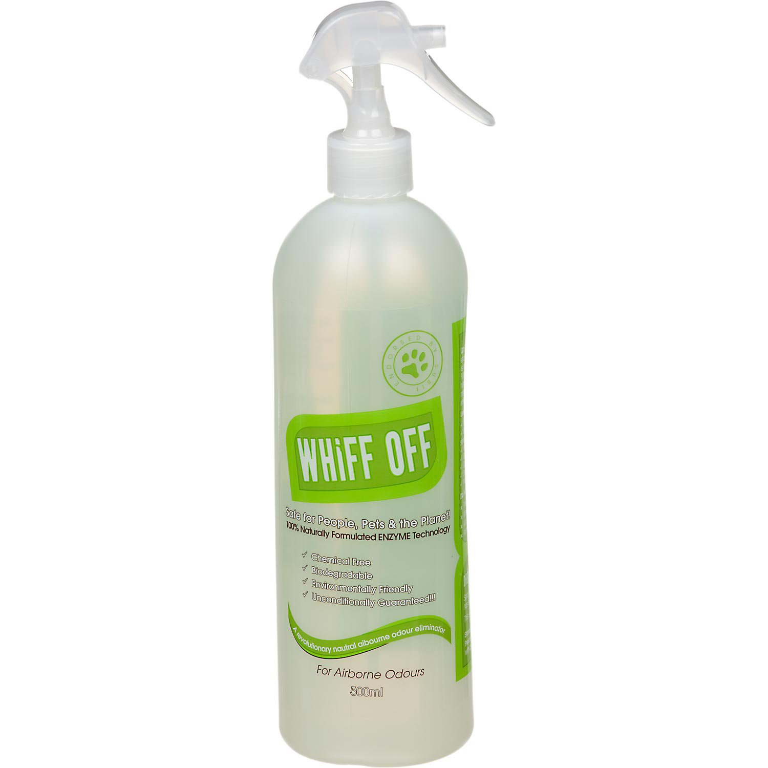 Whiff Off Natural Deodorizer and Deterrent