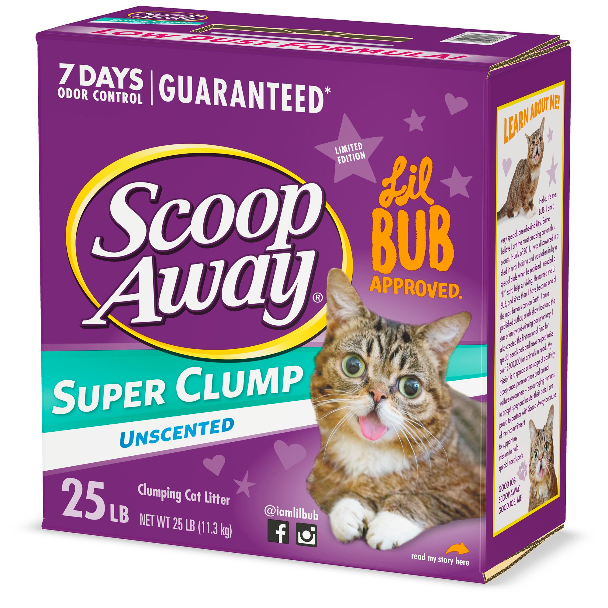 Scoop Away Unscented Clumping Cat Litter