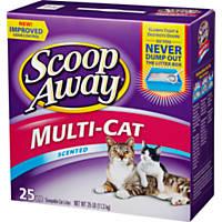 Scoop Away Multi-Cat Formula Clumping Cat Litter