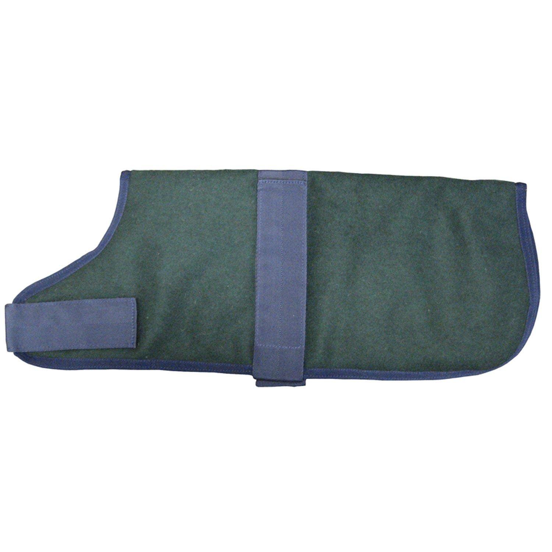 ABO Gear Hunter Green Wool Dog Coat